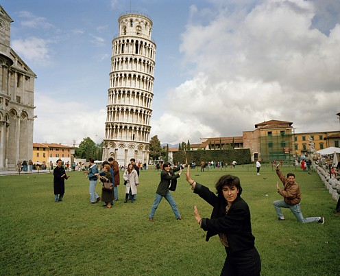Pisa Tourists de Parr